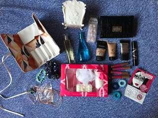 bundle of beauty items