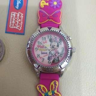 Disney Minnie--米妮兒童手錶(全新)正版正貨