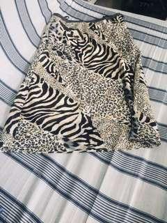 MORE 🐆🐅 print skirt
