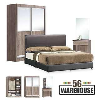 EL01 Bedrm Set w/o Mattress WH56