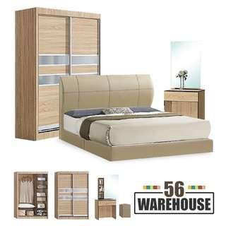 EL04 Bedrm Set w/o Mattress WH56