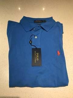 Ralph Lauren - Polo - XL - Blue - New