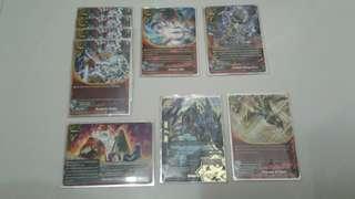 Buddyfight dragon world cards