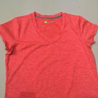 Workout Shirt Orange