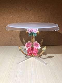 Dessert Table Rental Props - Flower Anchor Cake Stand