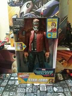 """Marvel 12"""" inch STARLORD - Gotg guardian of the galaxy avengers hasbro"""