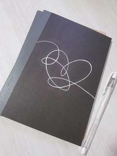 BTS LY notebooks