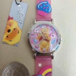 Disney Winnie the Pooh 卡通兒童錶(全新)正版正貨