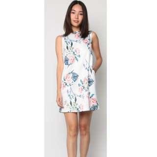 Dressabelle Sleeveless A Dress (Floral) L