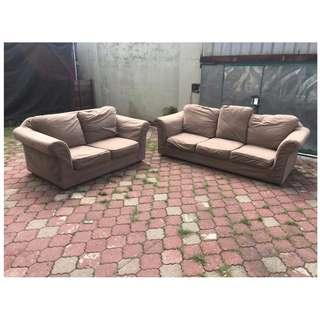 Sofa 3 + 2 S Removable Cushion Covered * M21 B
