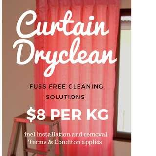 Sg #1 curtain dry cleaning services