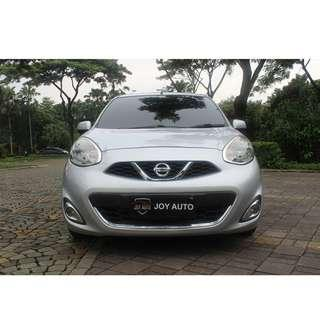 Nissan March 1.5 L AT 2013 Silver