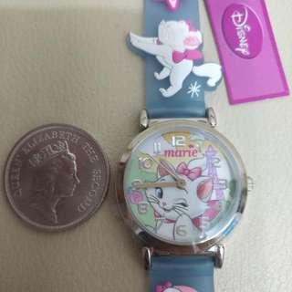 Disney Make -- 富貴貓卡通手錶(全新)正版正貨