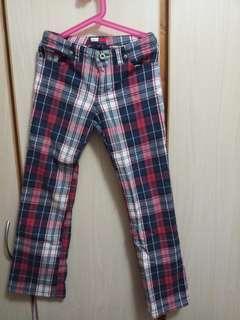 Tommy Hilfiger女童格仔長褲