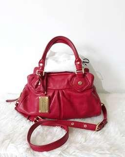 Authentic MARC BY MARC JACOBS classic Q baby groovee 2 way hand bag