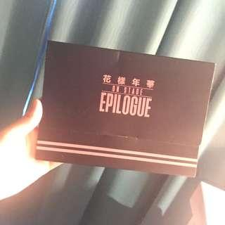 wts bts epilogue on stage photoset holder