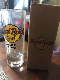 Hard Rock Cafe Uyeno-Eki Tokyo Shot Glass.