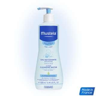 Mustela No-rinse cleansing water 300ml *NEW*