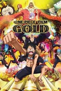 One piece film gold (2016) poster