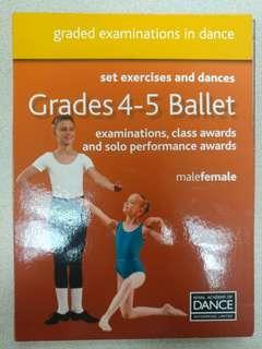Ballet grades 4-5 dvd examinations