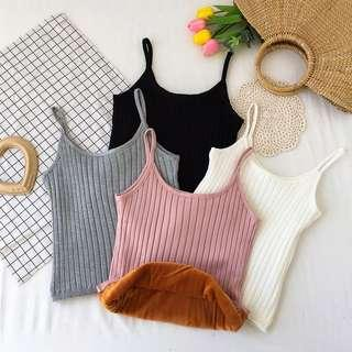 [PO] knitted tank top