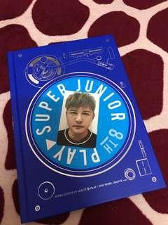 Super Junior 8th Play Album with Shindong Pc