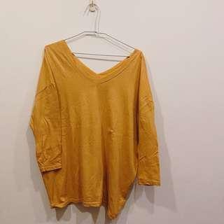 🚚 正韓🇰🇷 黃色寬鬆上衣 Joyce shop