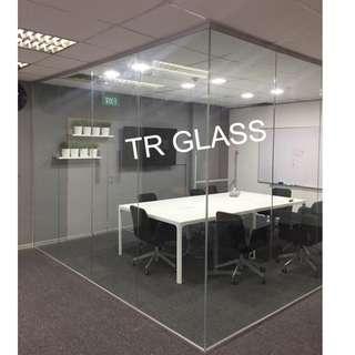 Glass Partition Office/House/Shop