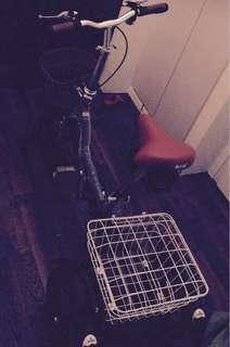 Tricycle with basket behind for sale!