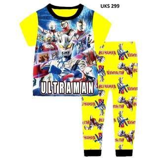 Ultraman Short Sleeve Pyjamas for 2 to 7 yrs old