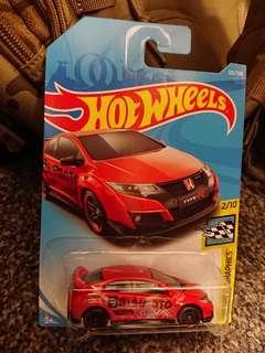Hotwheels 16 Honda CIVIC Type R