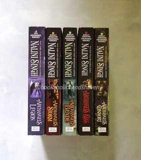 Archangel series set (4 books + 1 free) by Nalini Singh
