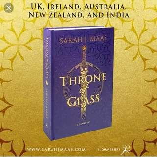 [ instock ] throne of glass uk collectors edition