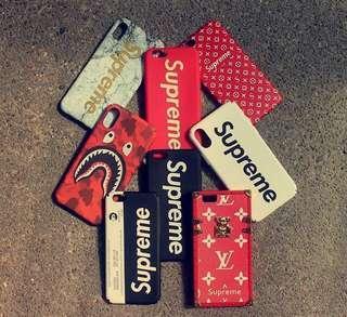 Supreme iPhone cases