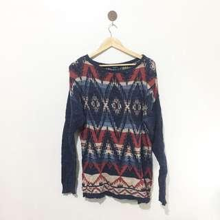 Printed Pullover/Sweater
