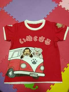 Baju merah vw