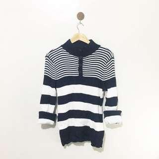 High Quality of Knit, Stripes Pullover