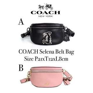 BEST SELLER! Coach selena belt bag