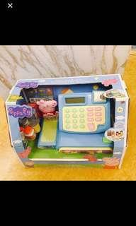 $238 Peppa pig cash register playset cashier set 小豬 🐷 收銀機玩具 🐷