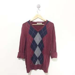 Old navy Maroon sweater/Pullover