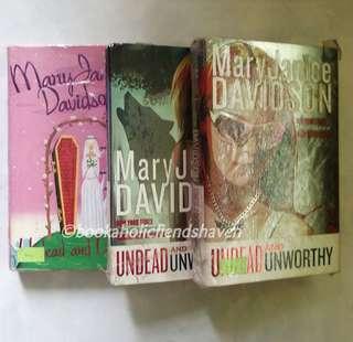 Undead Series bundle by MaryJanice Davidson