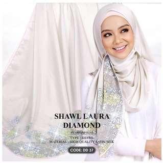 INSPIRED AR*ANI SHAWL LAURA DIAMOND