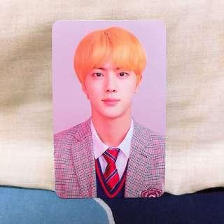 BTS Jin Love Yourself: Answer L Photocard
