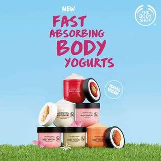 BodyShop Body Yogurt
