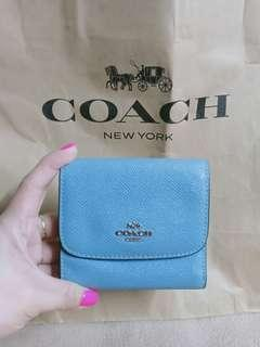 authentic coach trifold wallet not mk,ks,dkny,lacoste