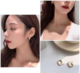 [NEW] Korean Style Simplicity Square Stud Earrings