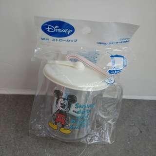 🇯🇵日本直送  Mickey小兒飲管有蓋水杯250ml