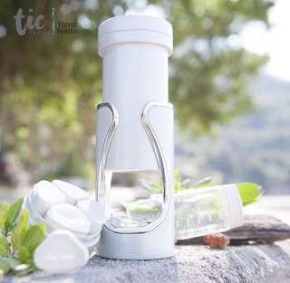 Travel Skincare Pump Bottle Container