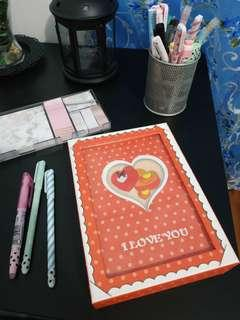 Adorable and Cute Diary w/ Case