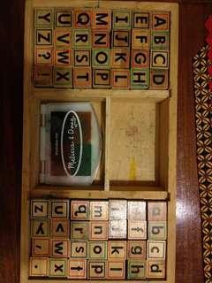 Melisa and doug alphabet stamps